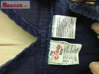 Predám menčestrové nohavice s trakmi zn. Disney 263707