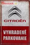 Vyhradené parkovanie - CITROEN 263732