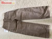Predám nové hnedé menčestrové nohavice zn. ZA 263870