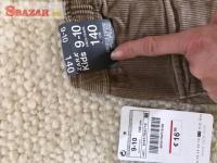 Predám nové hnedé menčestrové nohavice zn. ZA 263871