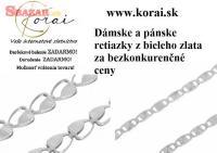 Retiazky z bieleho zlata od KORAI