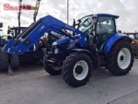 Nový traktor Holla.nd T5cI1c05 s nakladačom
