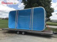 Plastový bazén 6x3x1,5 - výpredaj