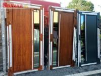 Prodám nové hliníkové dveře..Belgický profil