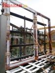 HST portály hliník různé velikosti.Rozměr 340