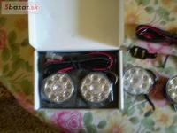 LED denne svietenie okruhle 9led
