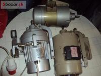 Spojkový motor pre šijacie stroje