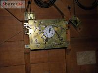 Obrazové hodiny - čtvrtky + zvonkohra strunová