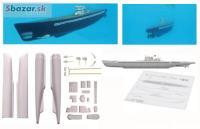 Výlisky na ponorku typ IX 1/72 PONORKA