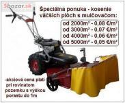 kosenie trávy Bratislava
