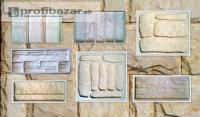 Silikonové formy a raznice imitace kamene