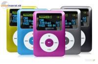 4 GB MP3 prehrávač s LCD displejom.