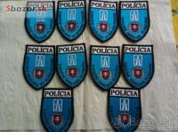 policajne našivky